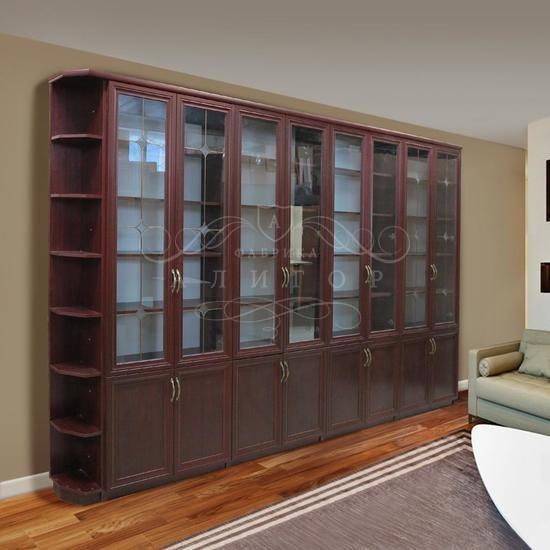 Шкаф книжный или шкаф для посуды аш- 3026.
